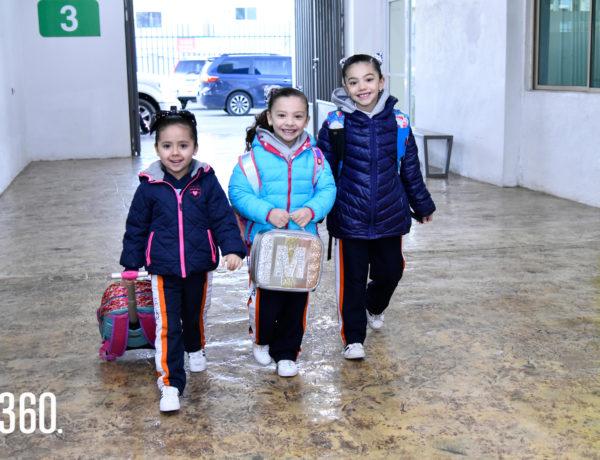 Emma Siller, Miranda de la Peña y Andrea de la Peña.