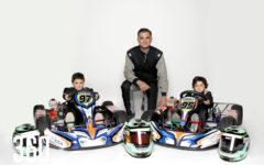 El corredor Daniel Jiménez heredó su pasión por correr Go Karts a sus dos hijos.