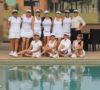 Alma Medina con celebró con sus amigas tenistas un año más de vida en las canchas de tenis de Terralta Country Club.