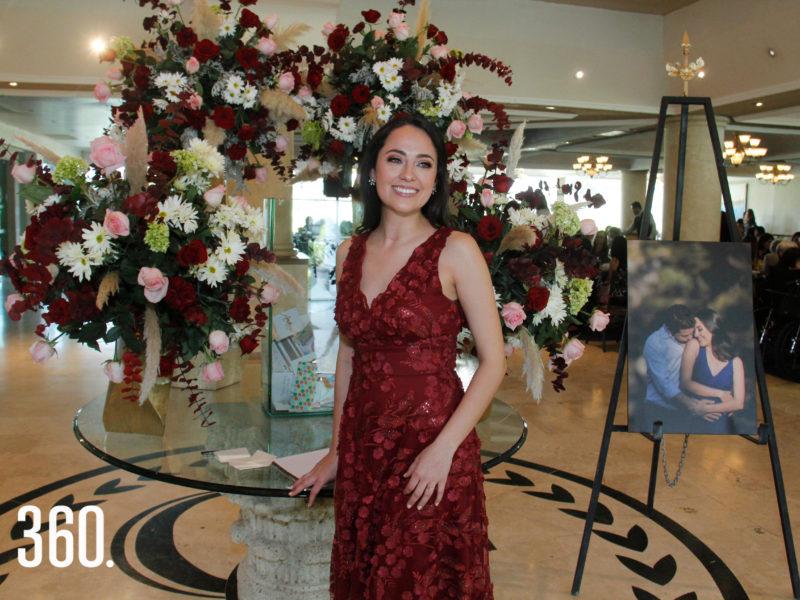 """Mariana Fantini Durón despidió su soltería en el restaurante """"Las Maderas"""", del Club Campestre de Saltillo."""