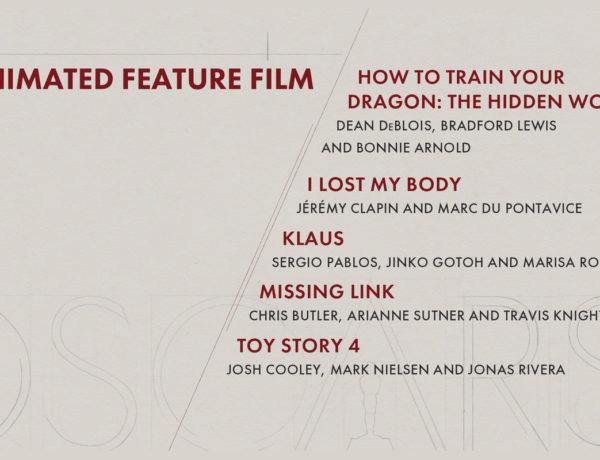 """""""Frozen 2"""" no llegó a las nominaciones y """"Toy Story 4"""" y """"Missing Link"""" se disputarán la estatuilla"""