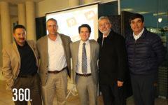 Miguel Mejía, Raúl Perales, Rubén Tlapanco, Álvaro Ramos y Arturo Martínez.