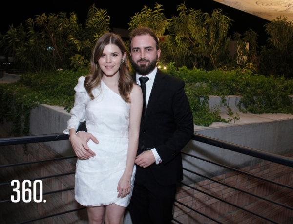 Bárbara Cárdenas Gutiérrez y Pedro Gentiloni Arizpe unieron sus vidas legalmente.