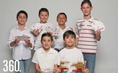 El equipo de 5º grado destacó a nivel nacional por su desempeño en razonamiento matemático en el Primer Premio Semper Altius