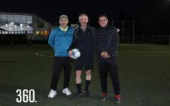 Héctor Rodríguez, Jesús Jiménez y Mario Contreras.