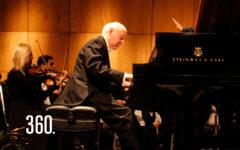 """Jorge Federico Osorio, pianista concertista internacional, participó en el concierto """"Beethoven"""", en el marco del V Aniversario de la OFDC."""