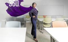 Alondra Mata Loyola busca mejorar las condiciones laborales de las mujeres en la industria privada a través de proyectos de sostenibilidad empresarial.