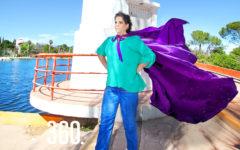 Clara Zapata forma parte de la Liga de la Leche e impulsa la lactancia materna como una alternativa de alimentación sustentable.