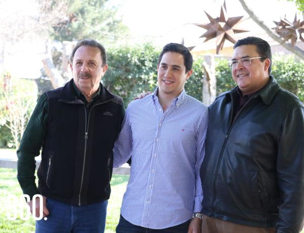Josué Díaz, Juan Carlos Díaz y Felipe Torres.