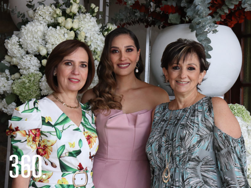Patricia de la Mora, Andrea Hernández y Noris Arzamendi.