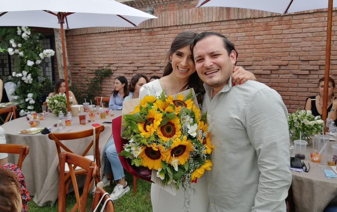 Daniela Fuentes y Marcelo González.