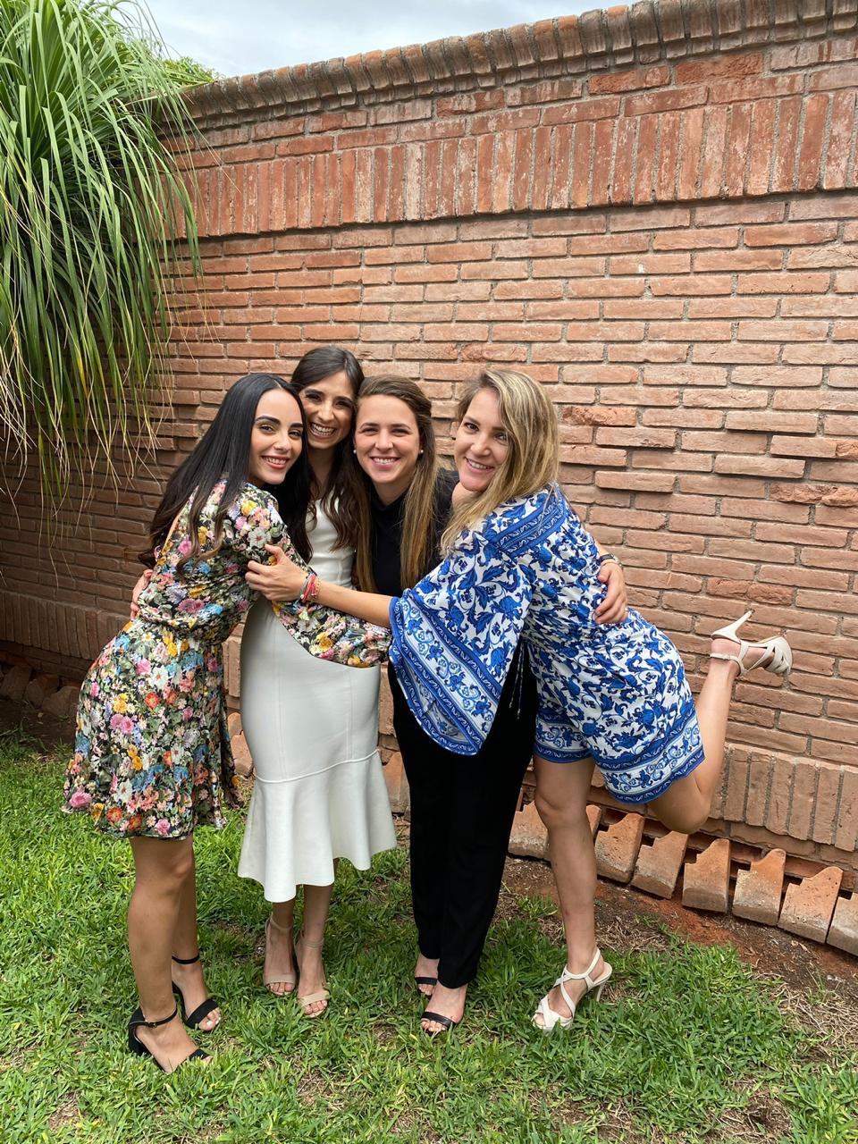 Alma Martínez, Daniela Fuentes, Melita Lastra y Begoña Gallego.