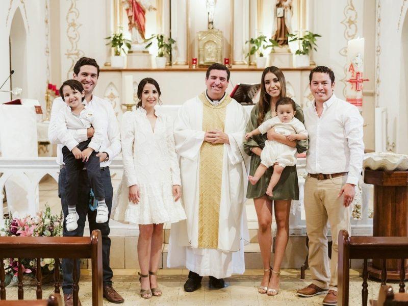Patricio Peart Treviño, Jorge Peart, Daniela Treviño, Padre Juan Antonio Ruiz LC., Gonzalo Peart Treviño, María Isabel y Enrique Guevara.