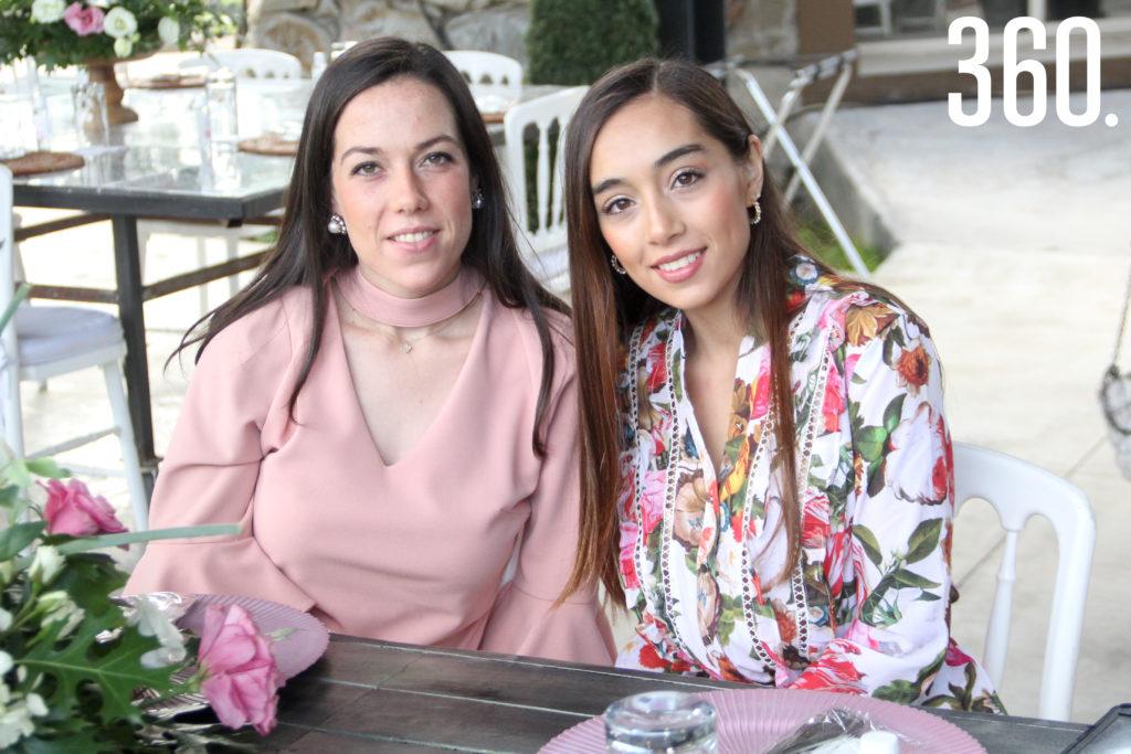 Camila Robles y Mariana Ruiz.