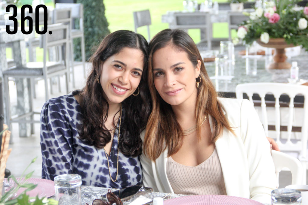 Laura Dávila y Jimena Orta.