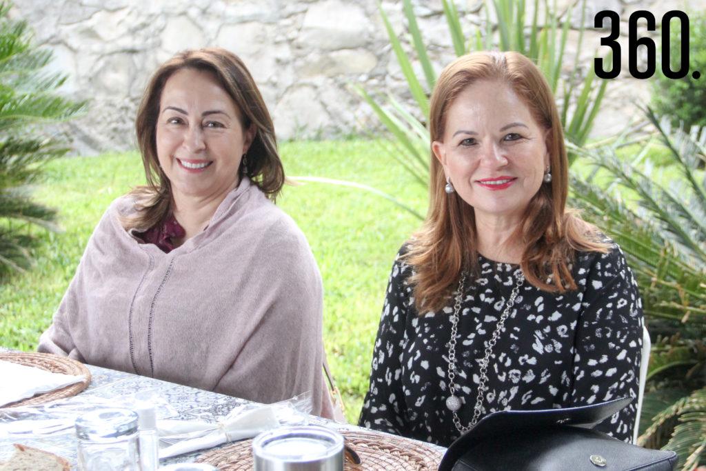 Leticia Alvarado y Teté Ramos.