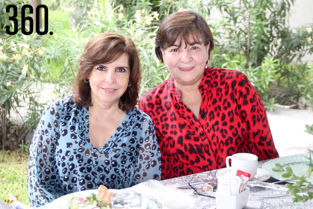 Magdalena Arsuaga y María Antonieta Villarreal.