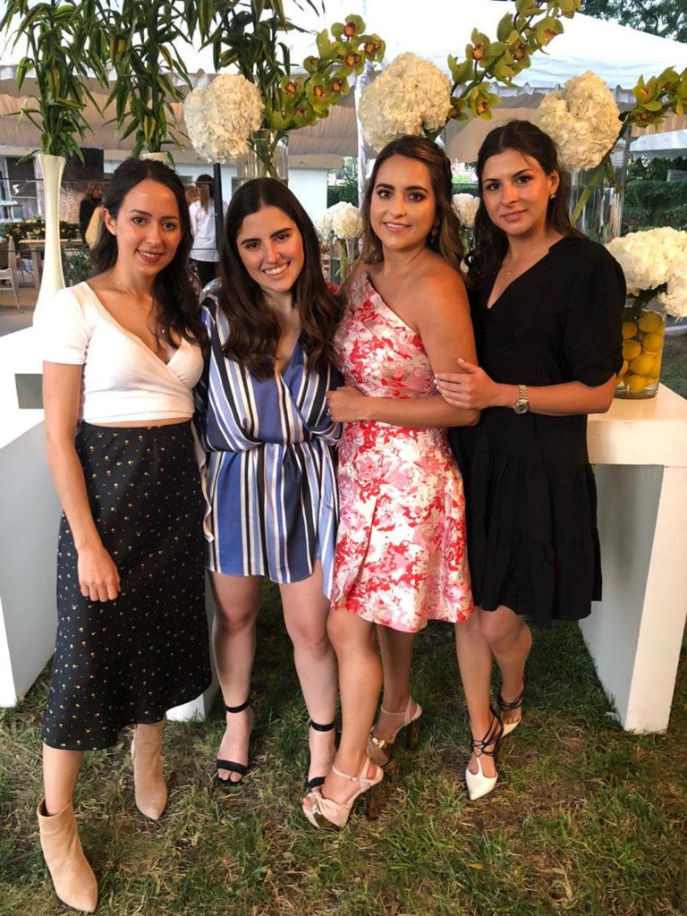 Gabriela Ramos, Sofía Dávila, Malena e Ivonne Salinas.
