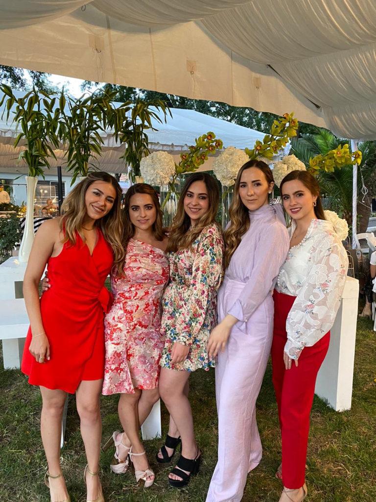 Rebe Arizpe, Malena Flores, Fernanda Torres, Gabriela Farías y Daniela Arsuaga.
