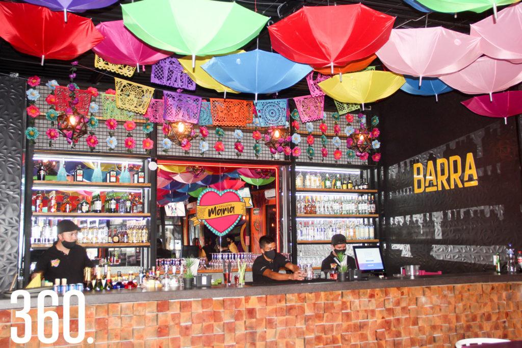 El restaurante está ubicado en el Bulevar Eulalio Gutiérrez.