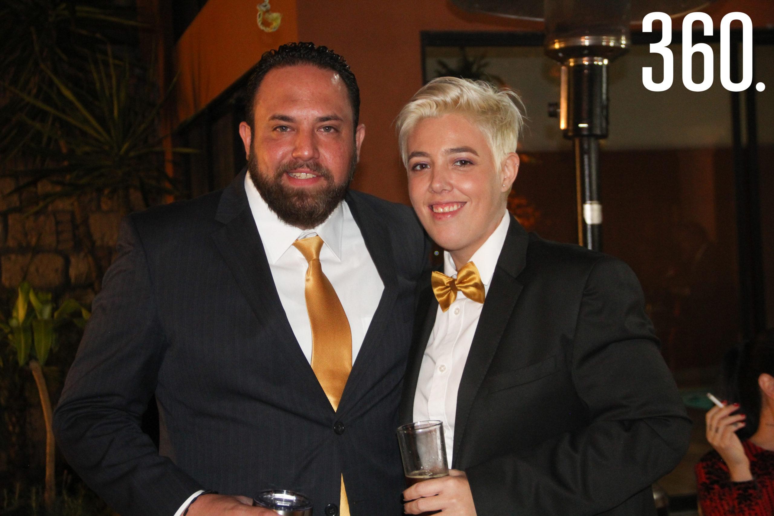 Carlos Reyes y Marisol Aguirre.