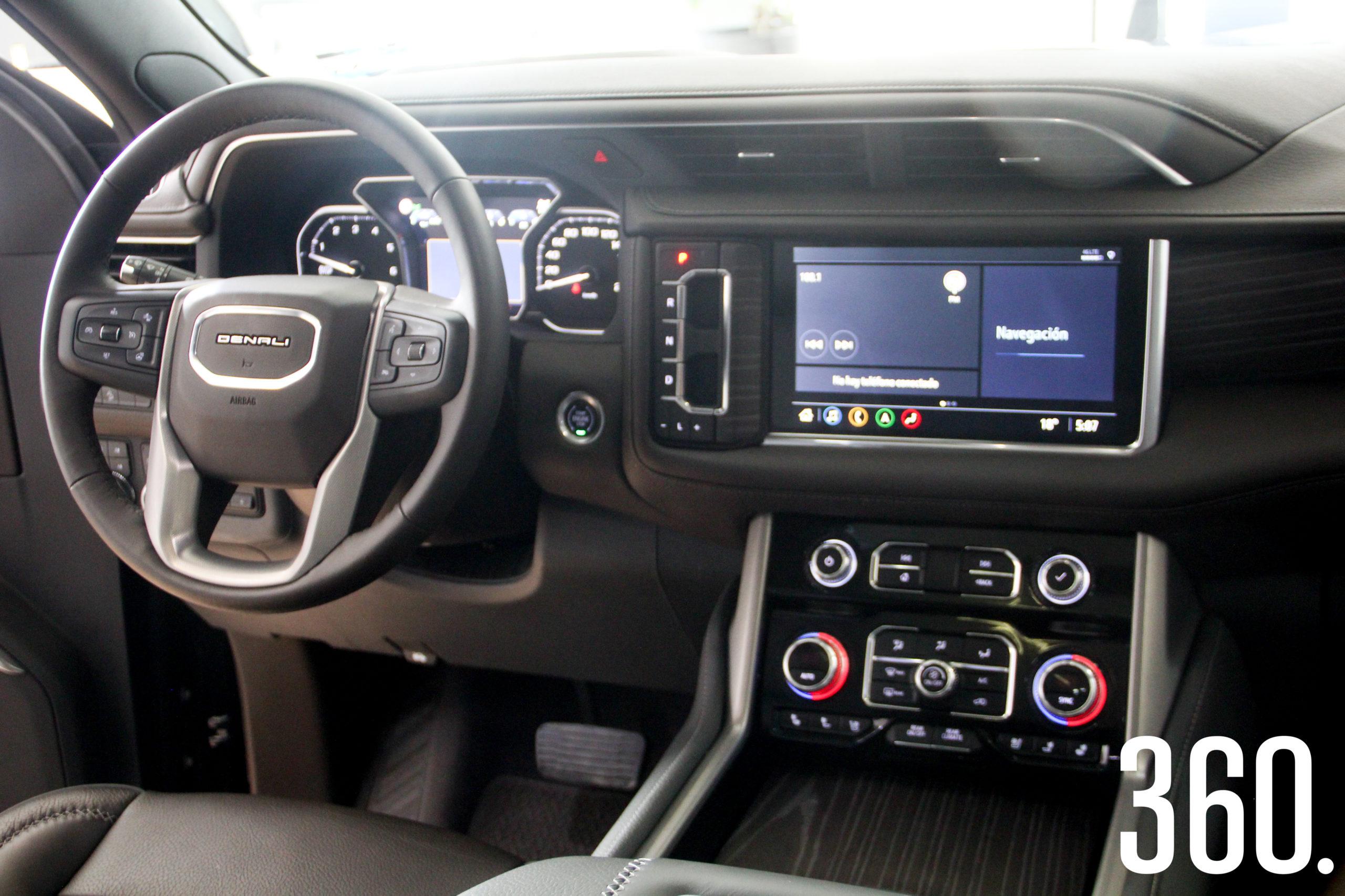 La conducción es una experiencia de confort, seguridad y satisfacción de manejo.