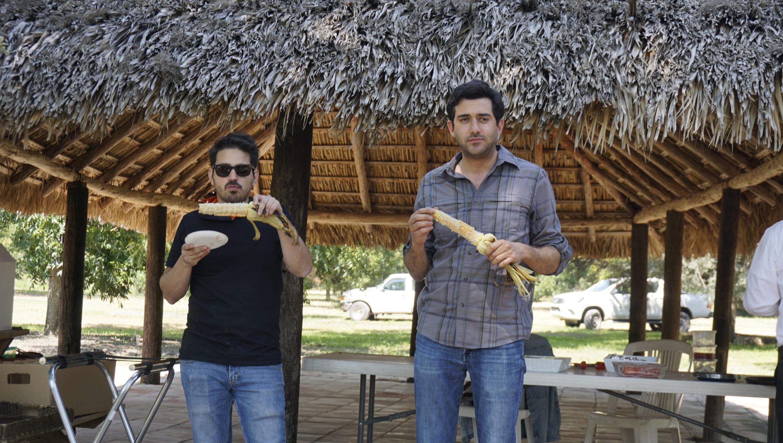 Martín Cervantes y Gerardo Aguirre.