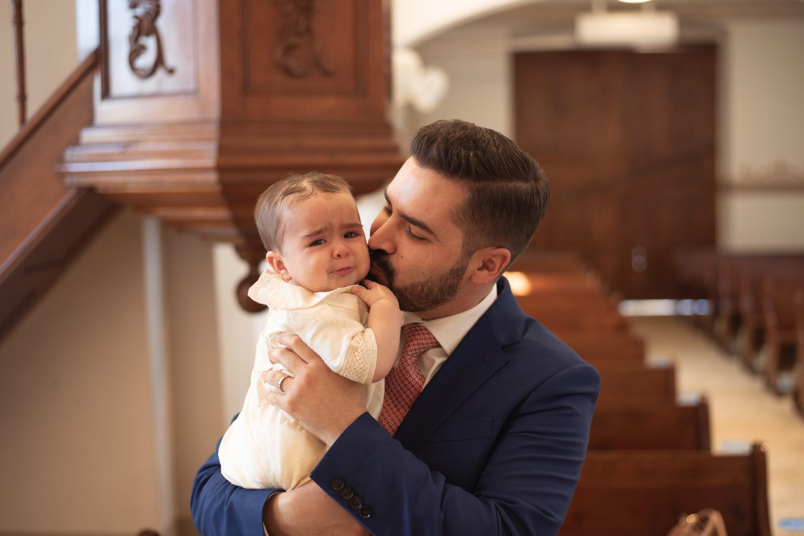 Jorge Alanís Mellado con su papá.