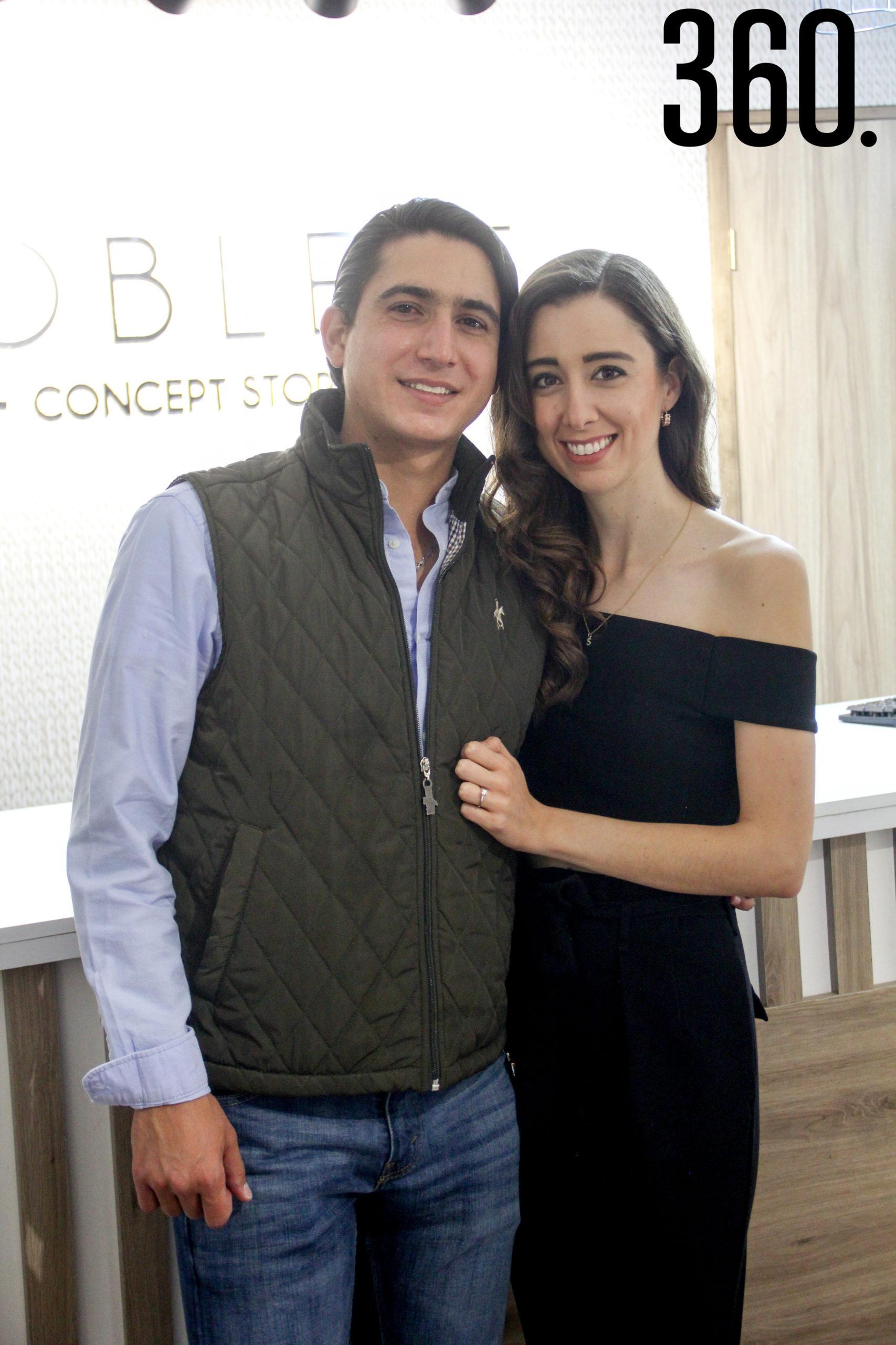 Roberto Treviño y Sofía Elguezabal.