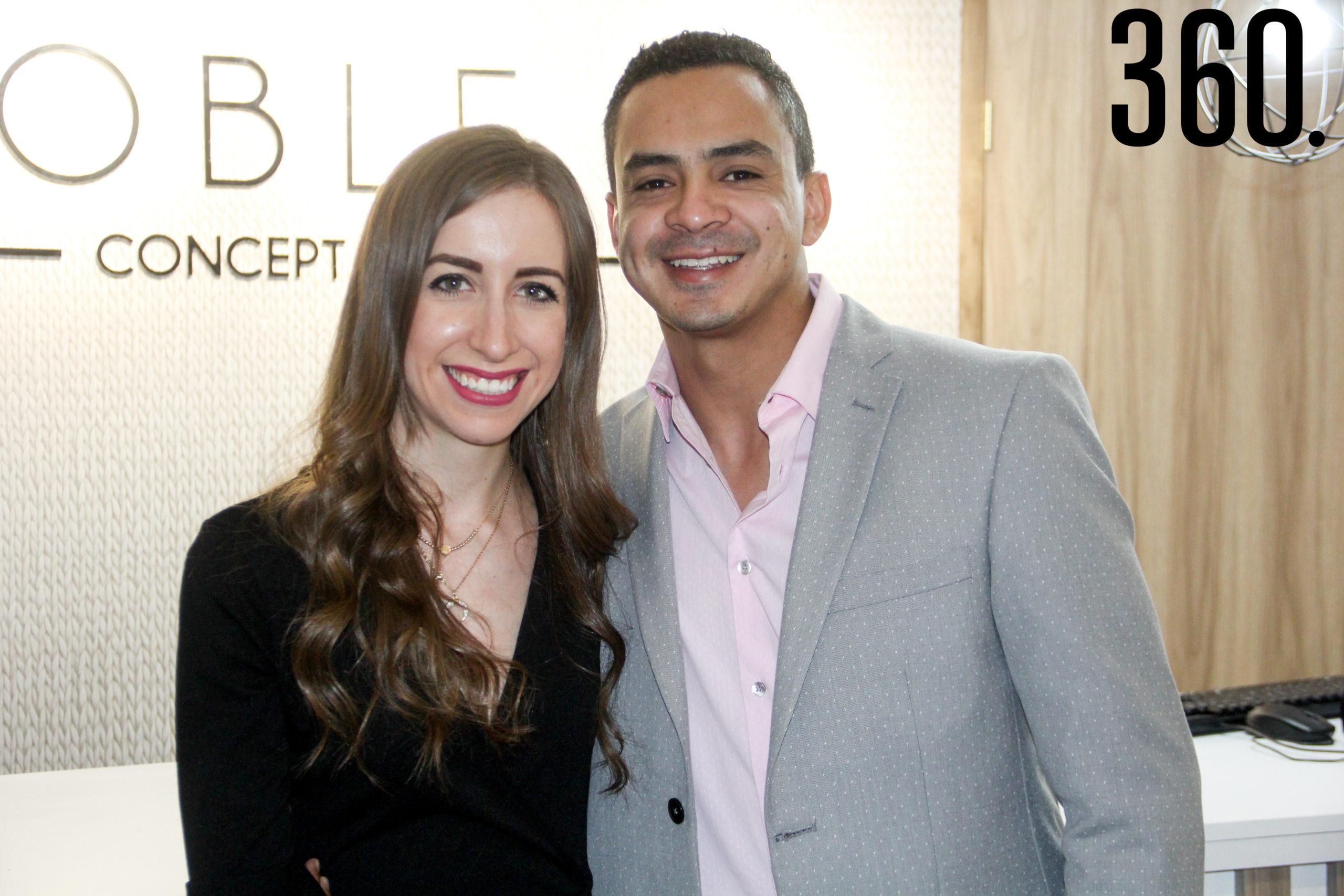 Valeria Elguezabal y Raúl Acosta