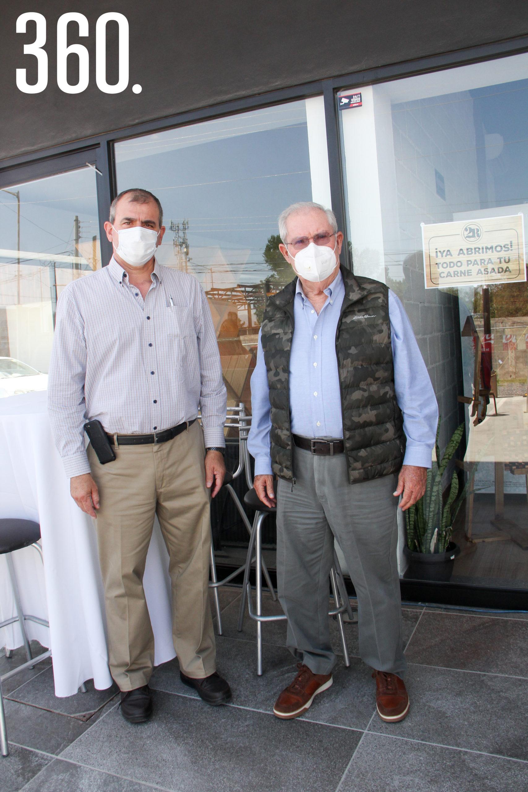 Roberto Cárdenas y Carlos Robles.