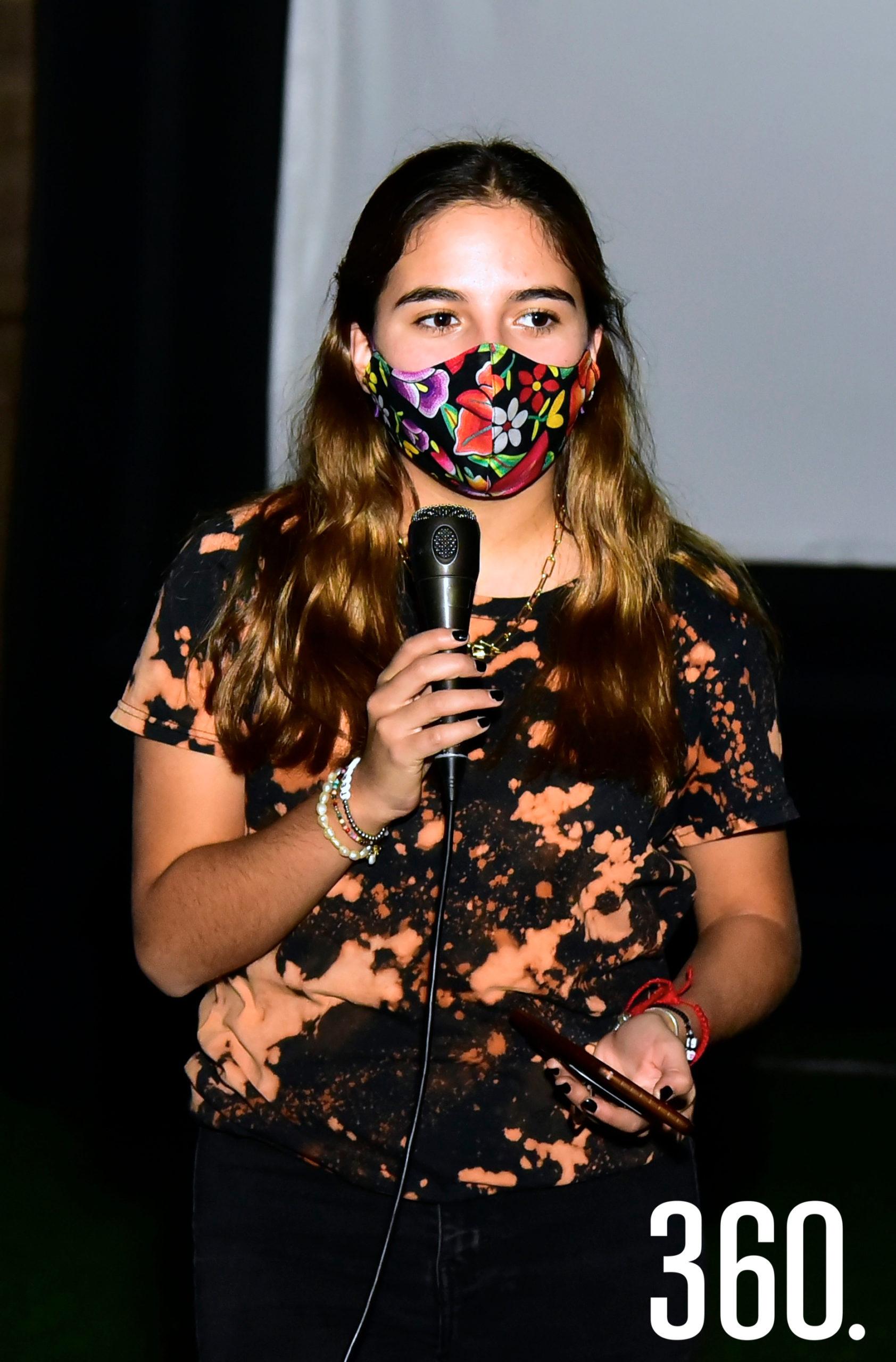 Laura Sánchez, integrante de Regnum Christi.