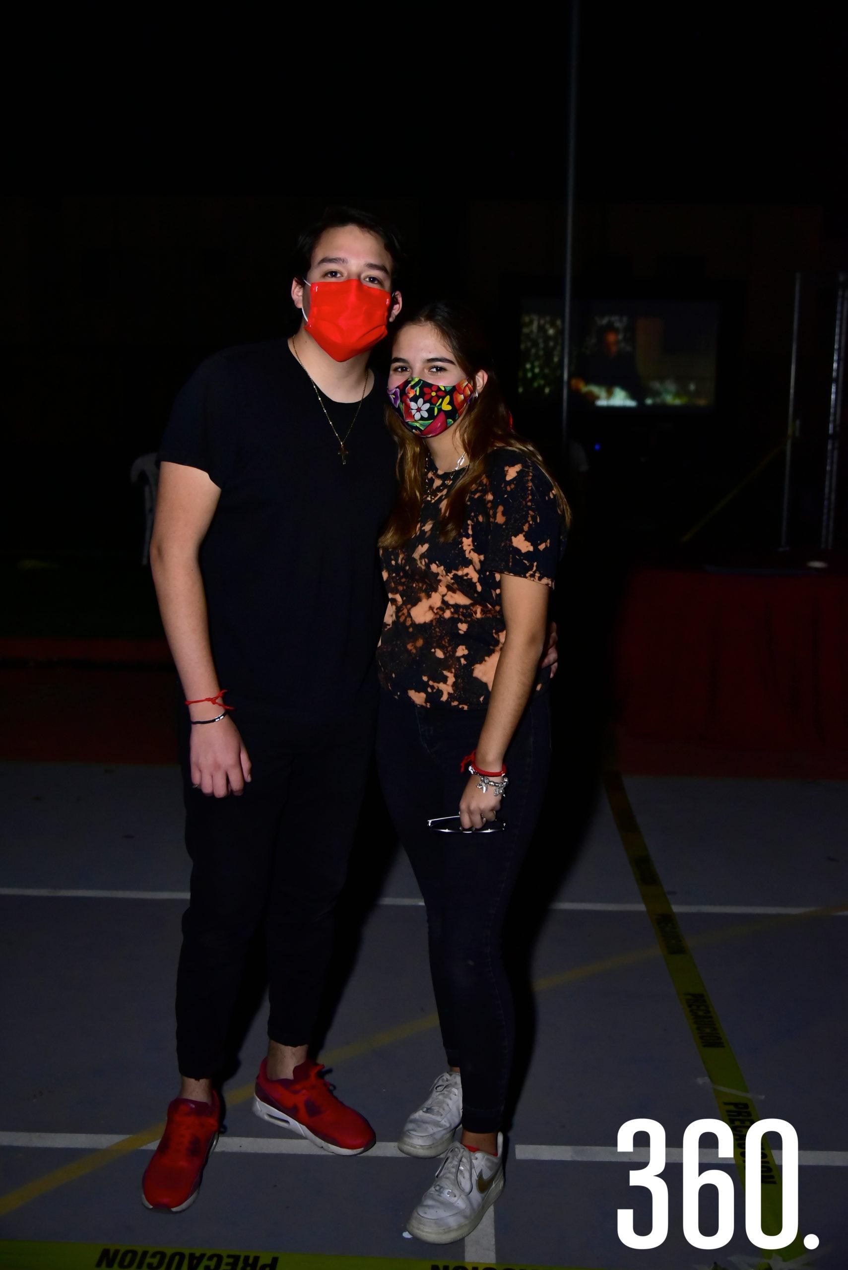 Juan Pablo Valdiviezo y Laura Sánchez.