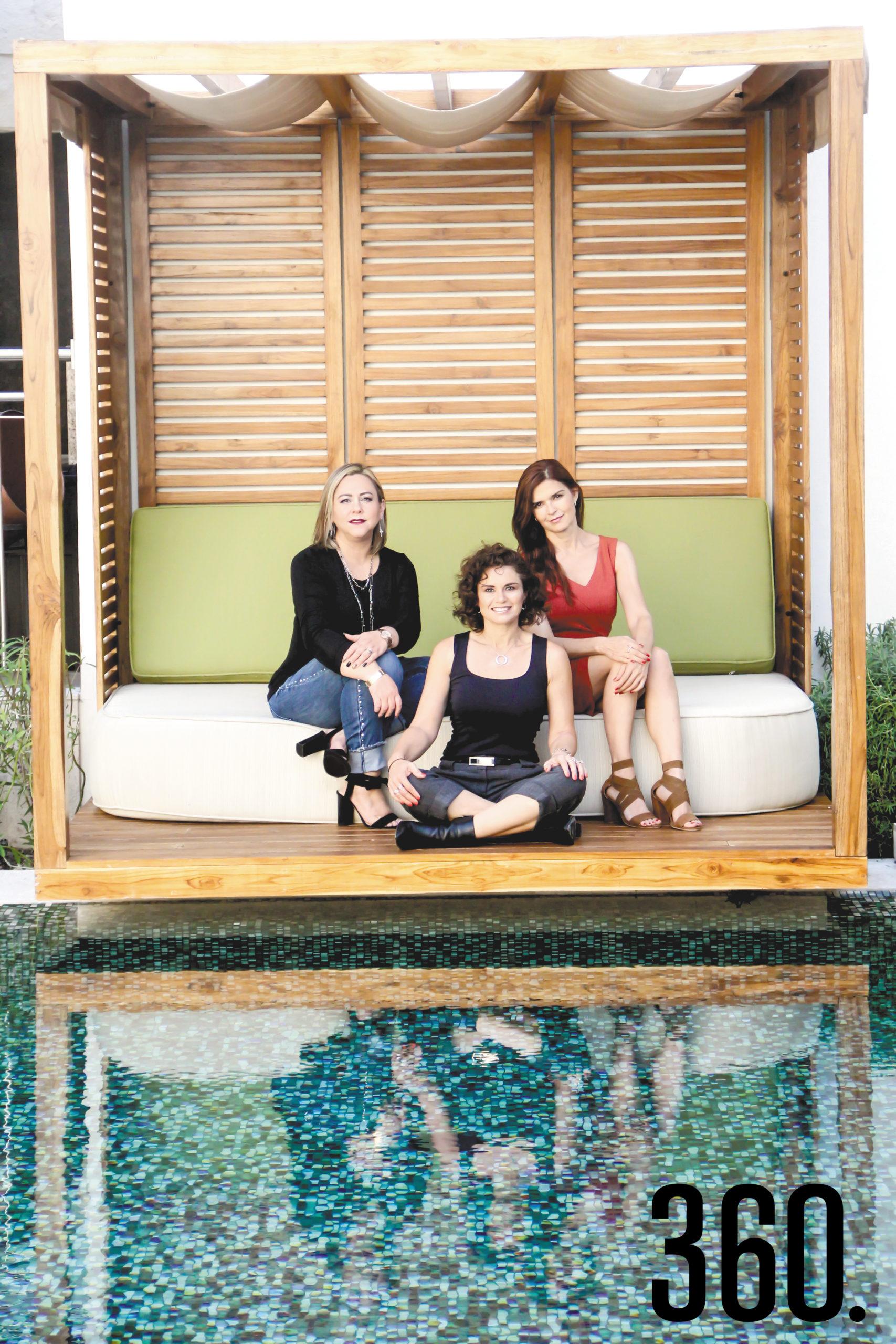 Silvia, María Pía y Zaida crearon una comunidad para compartir una cultura de bienestar.