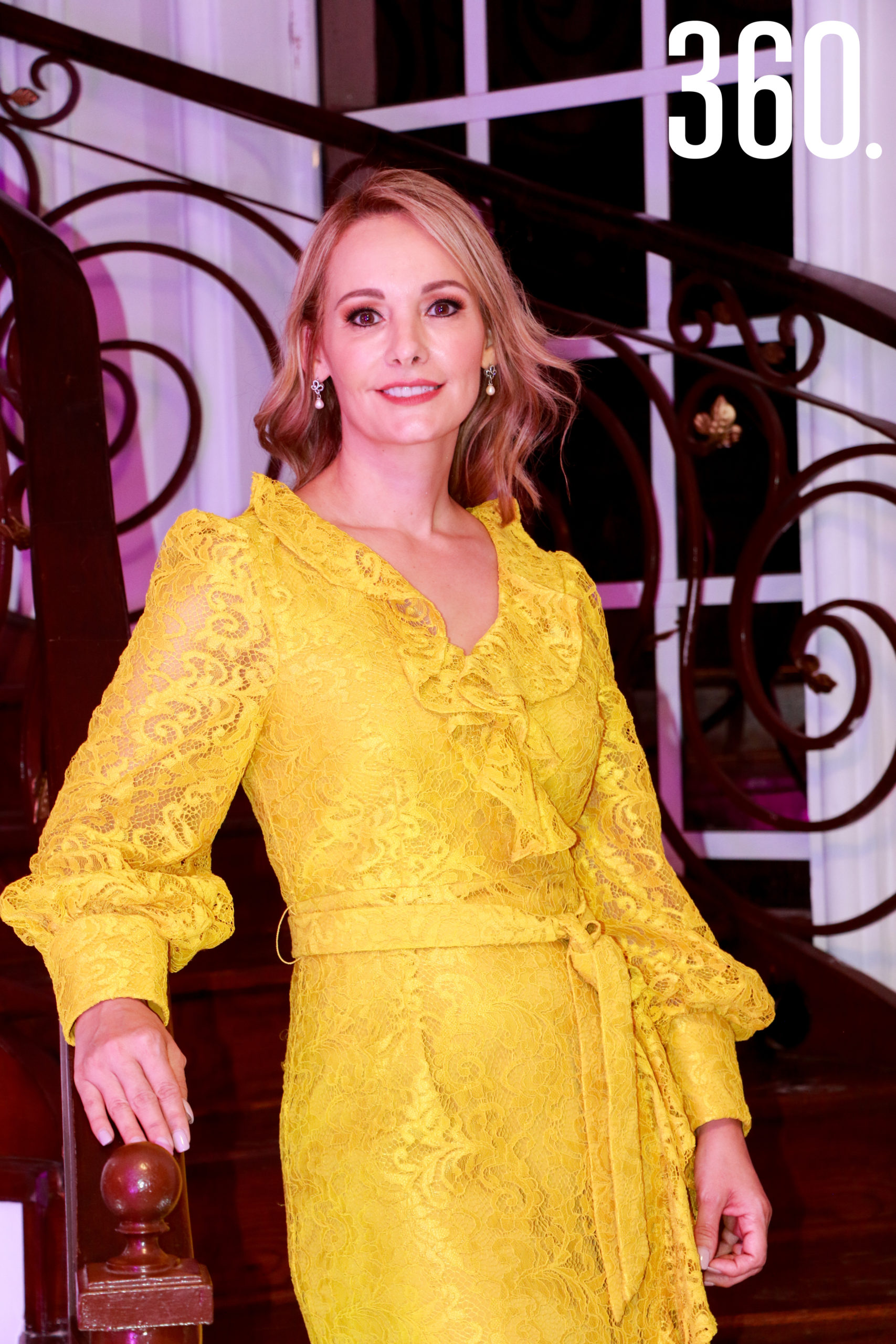 Lorena de los Santos.