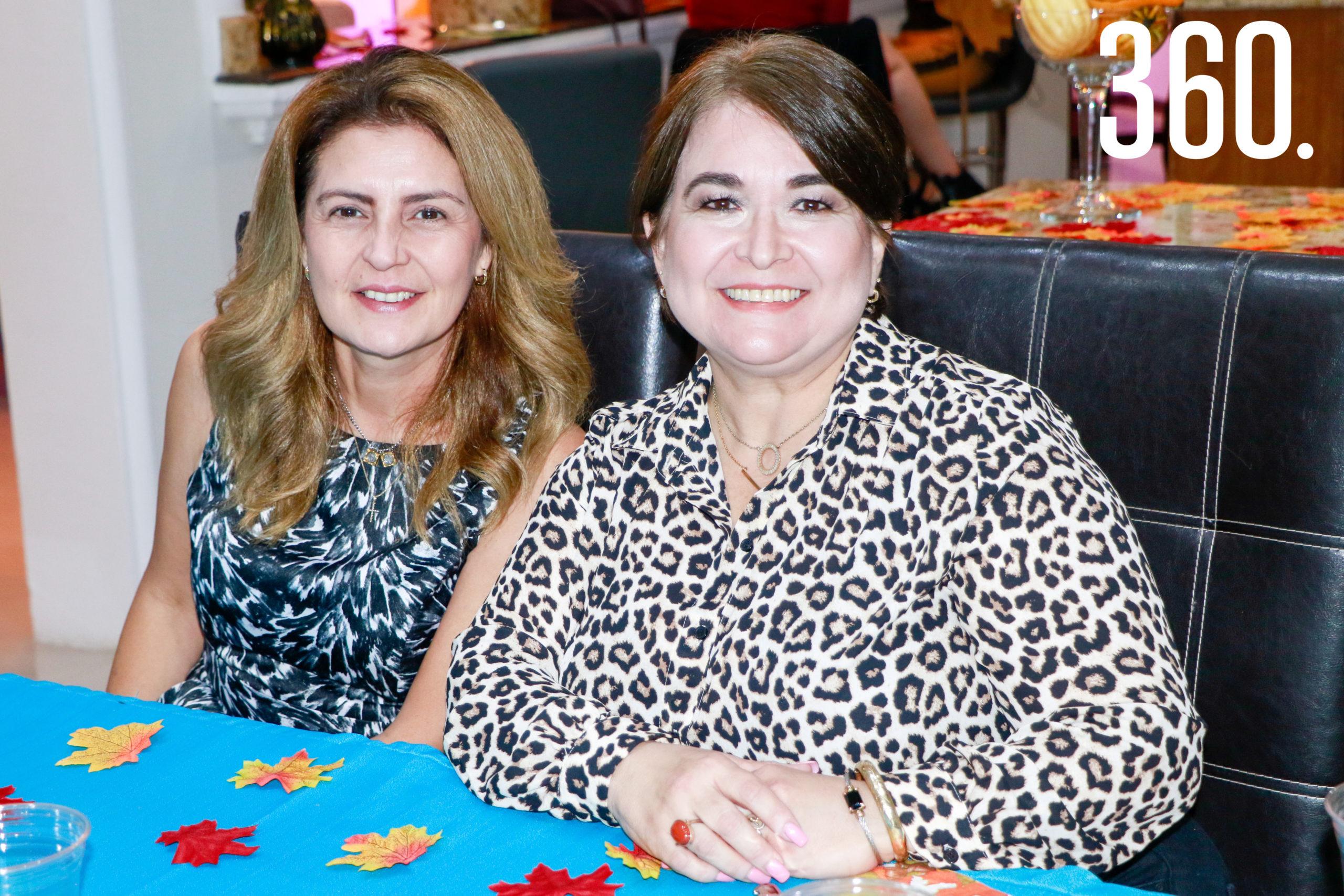 Silvia Botello y Lorena Villarreal.