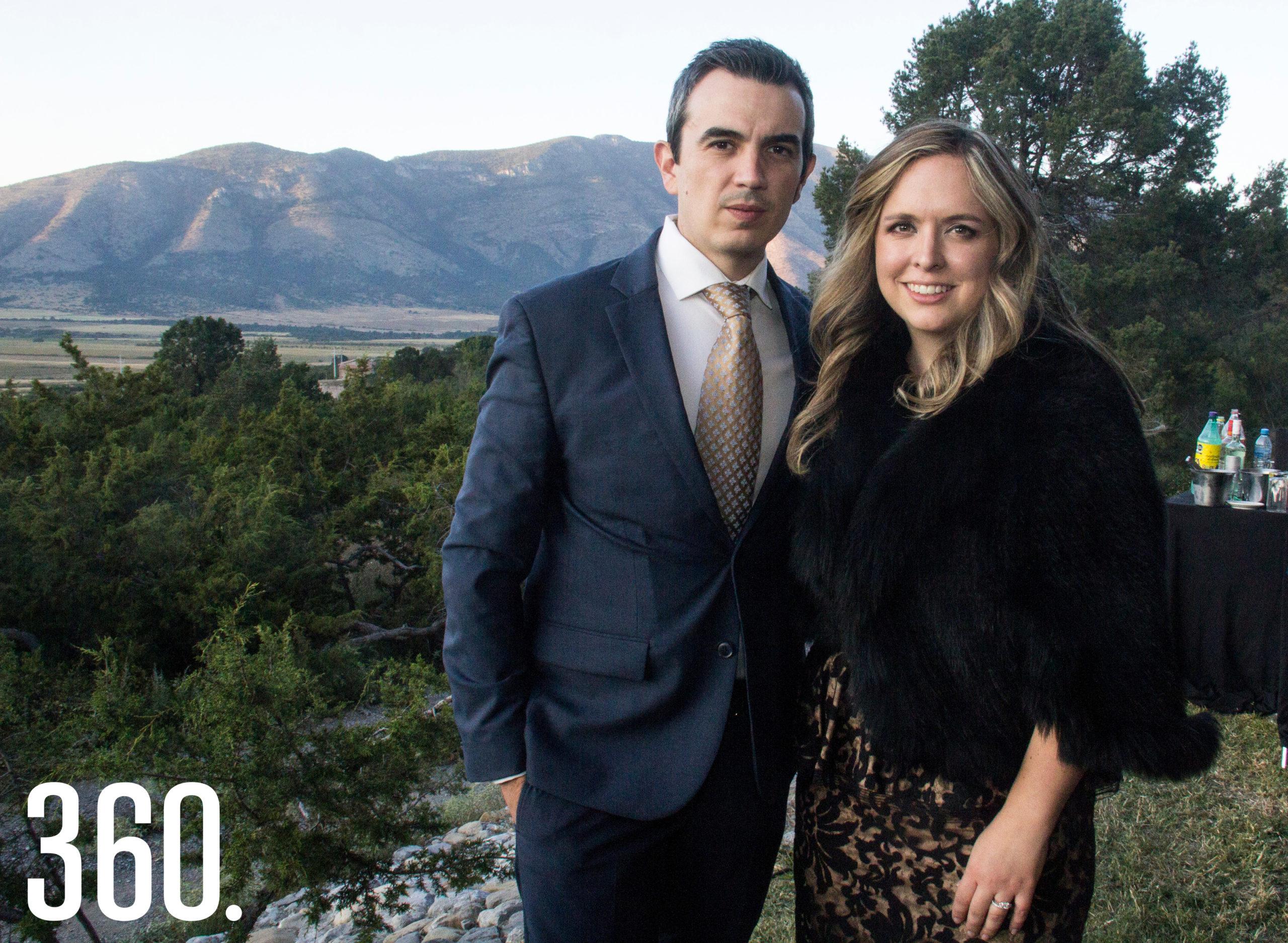 Mauricio Lankenau y Diana Castro.
