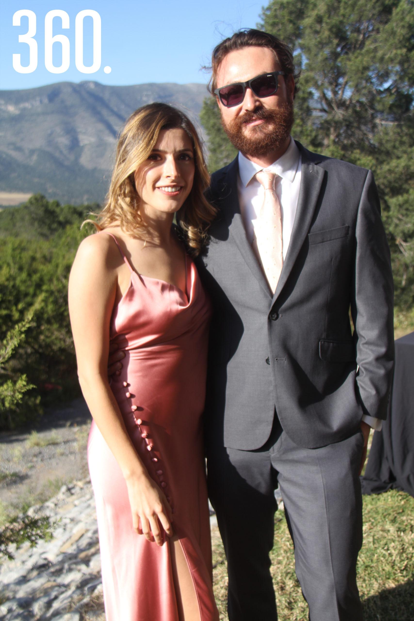 Carolina Guajardo y Luciano Peralta.