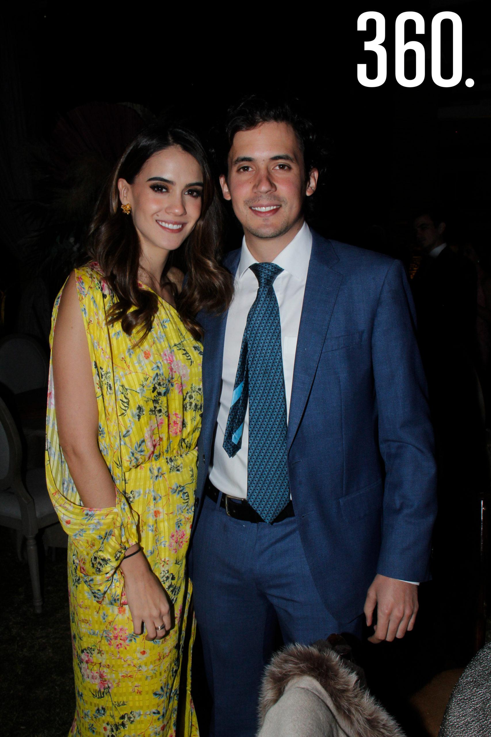 Daniel López y Mónica Díaz.