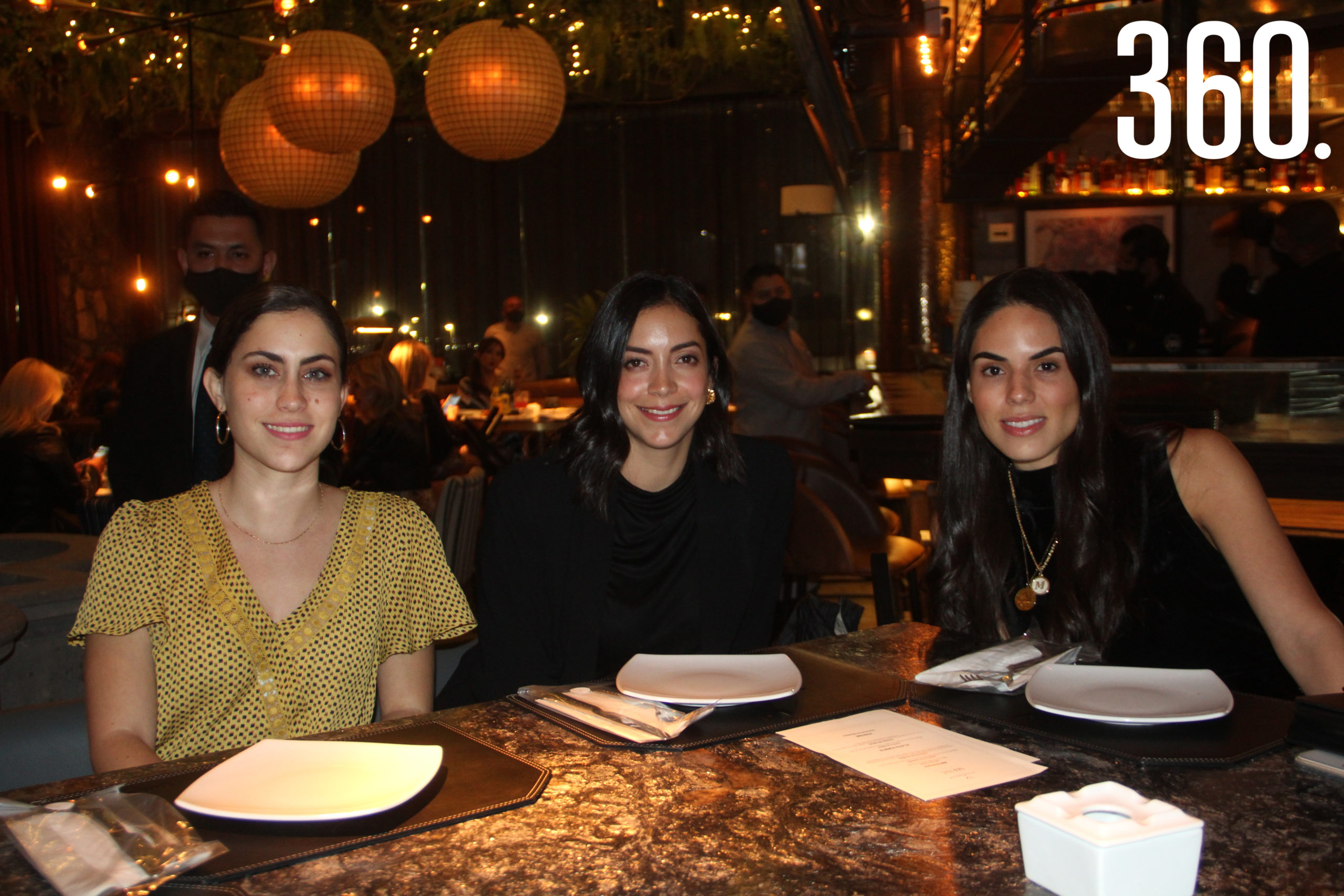 Marimar Treviño, Ana Paula Torres y Mariana Salinas.