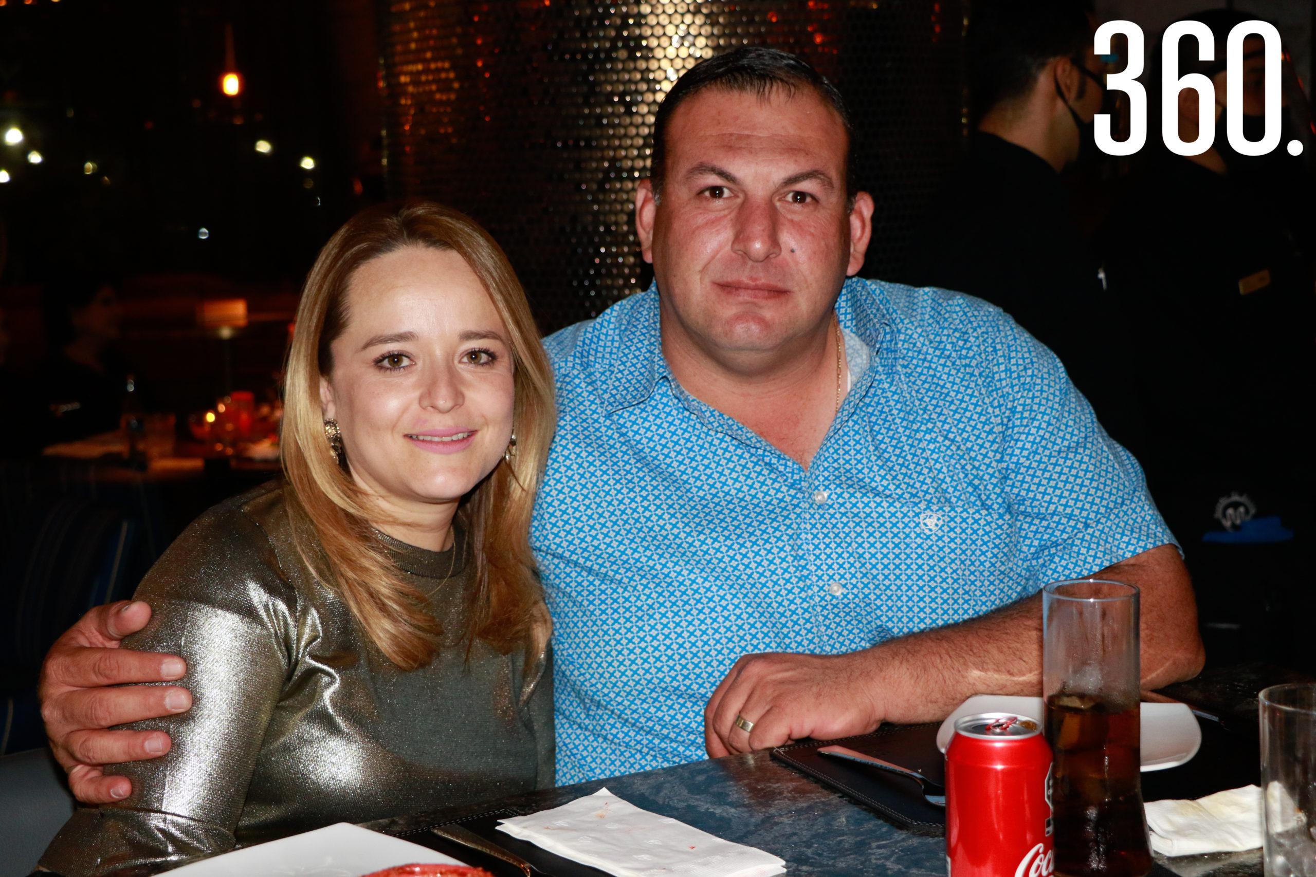 Laura Guzmán y Jorge Dainitín.