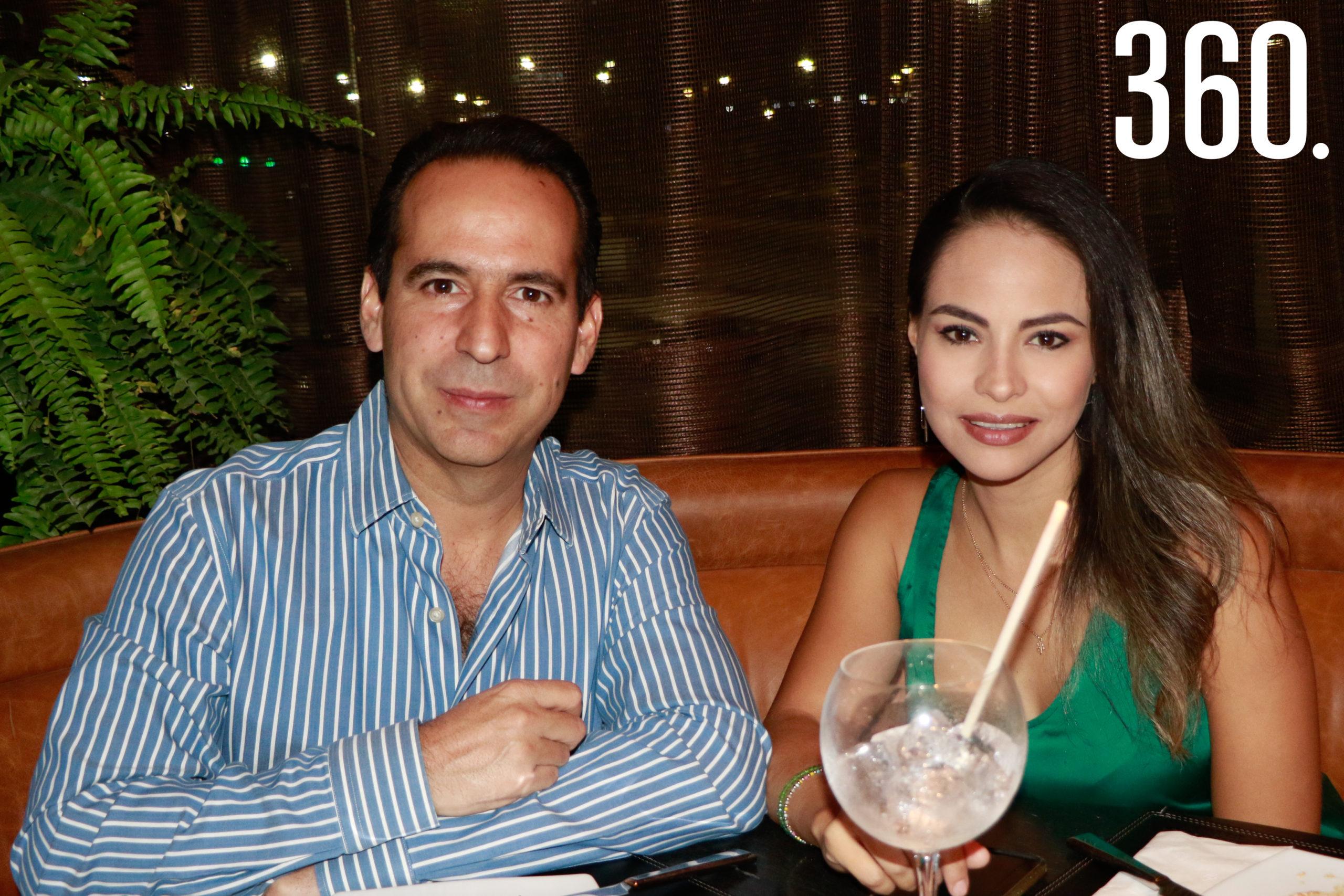 Bernardo Chuck y Lucía Rodríguez.