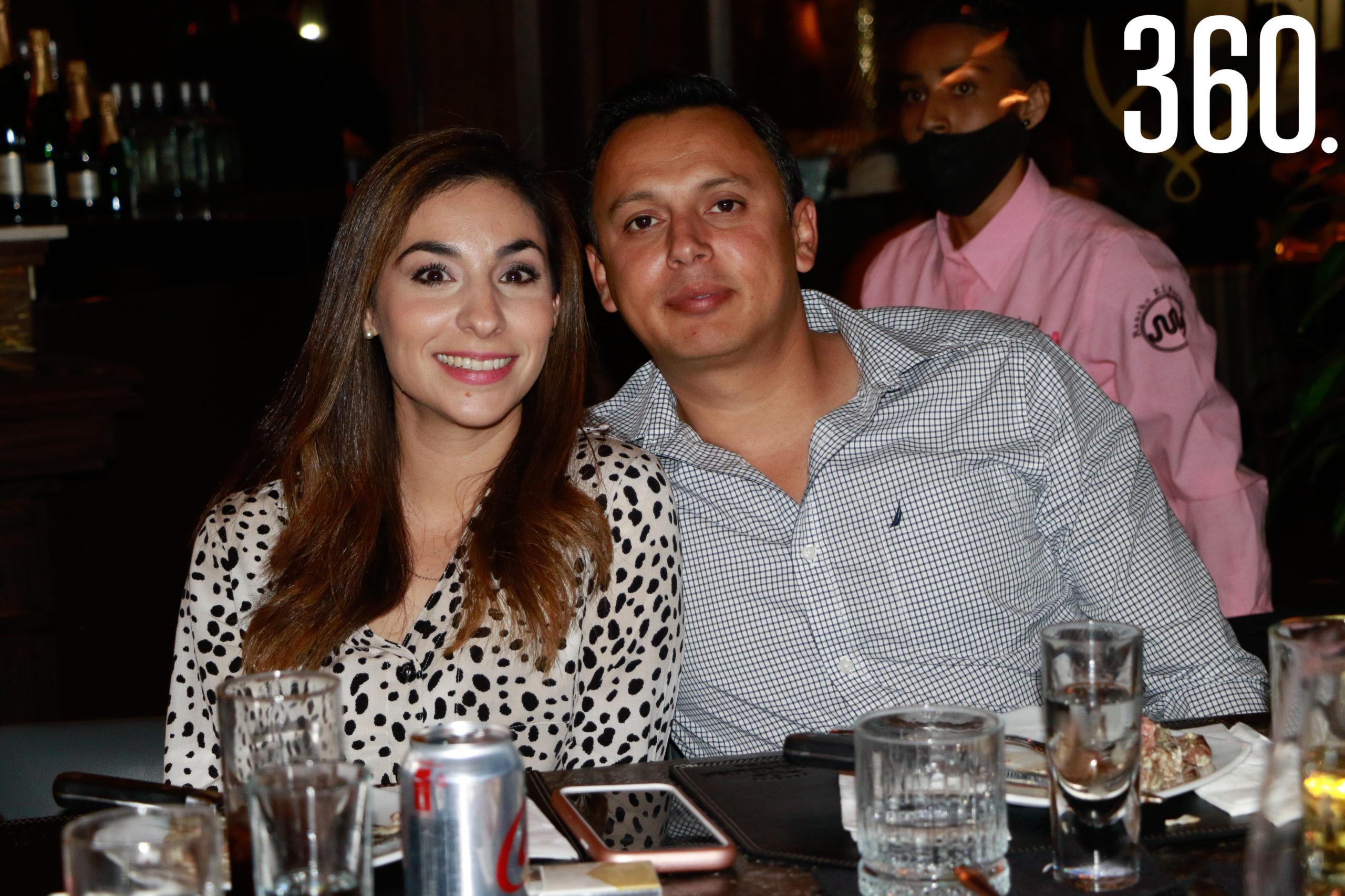 Nadia Sánchez y Enrique García.