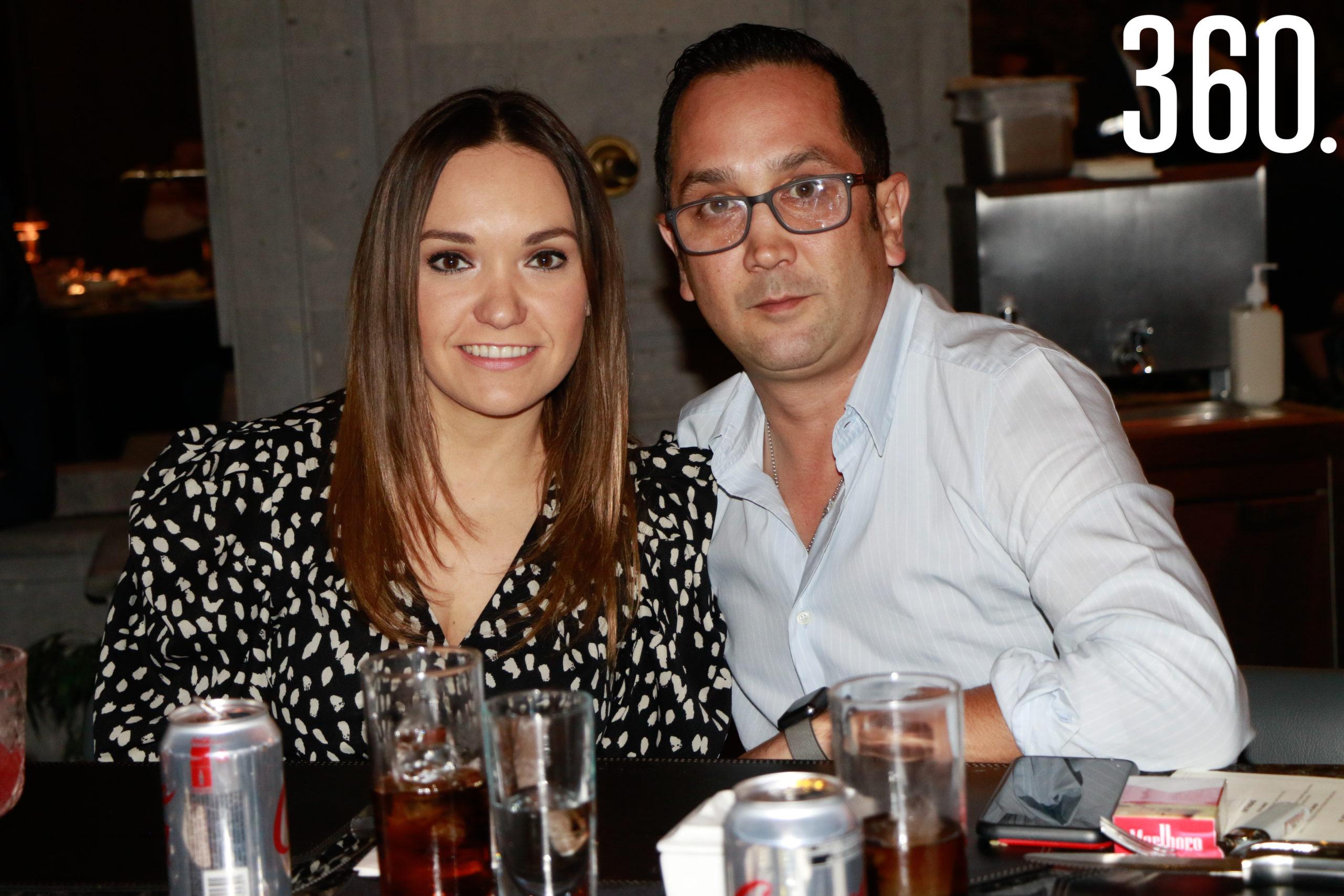 Ana Laura Cárdenas y Eduardo Hernández.