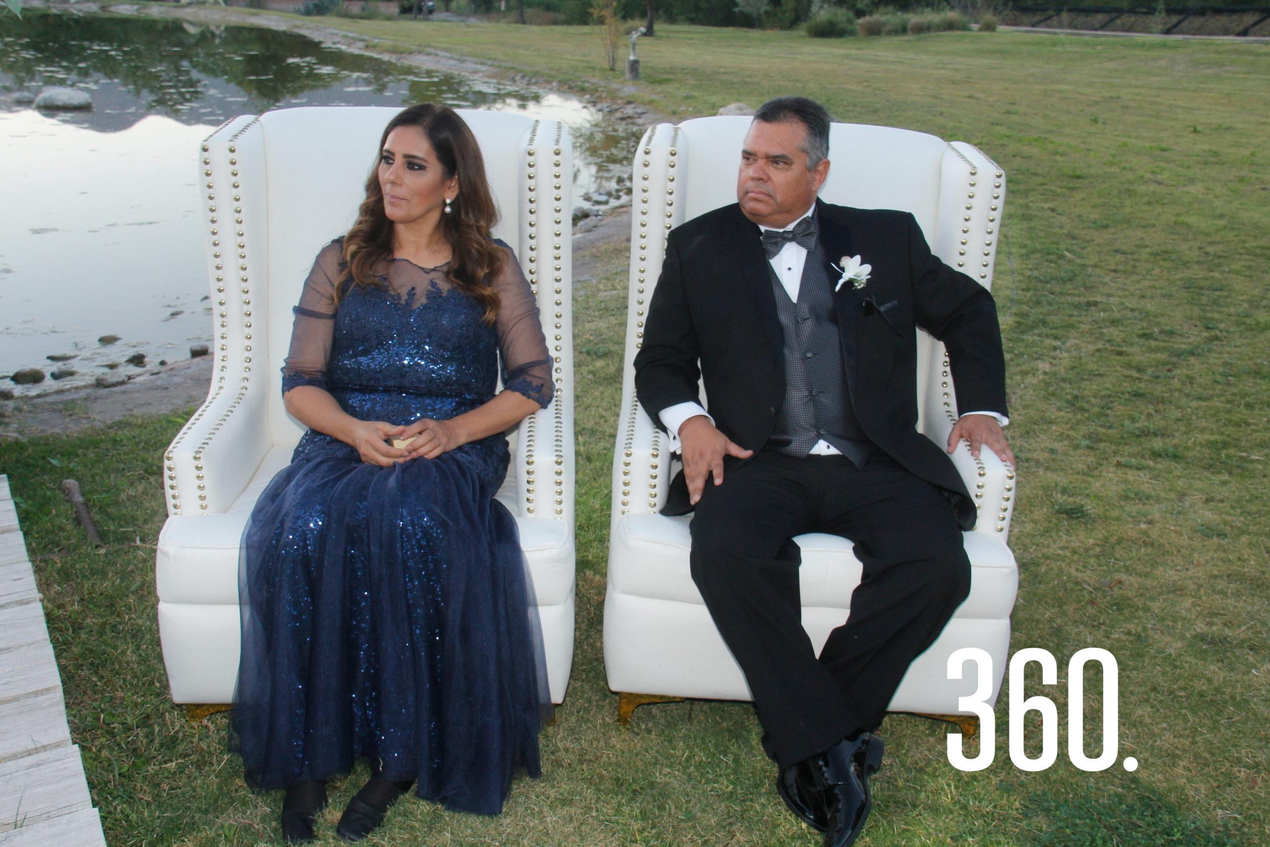 Carlos Gómez y María Lucía Hernández, padres de Gaby.