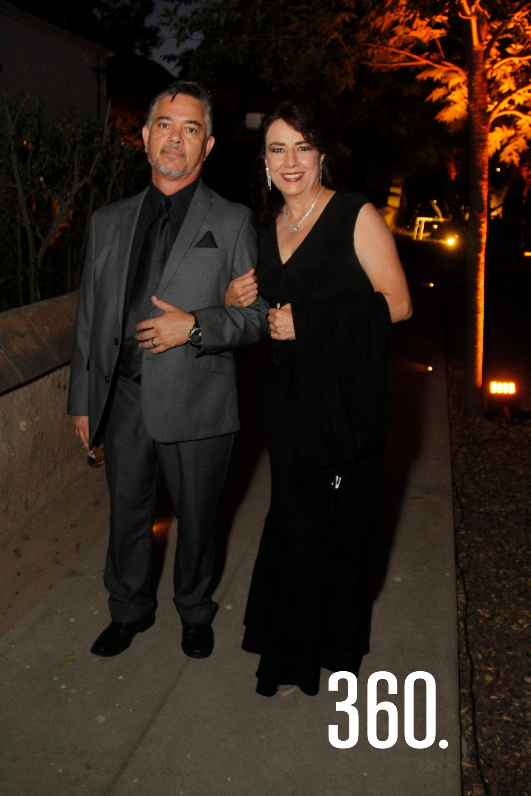 Javier y Diana Gómez.