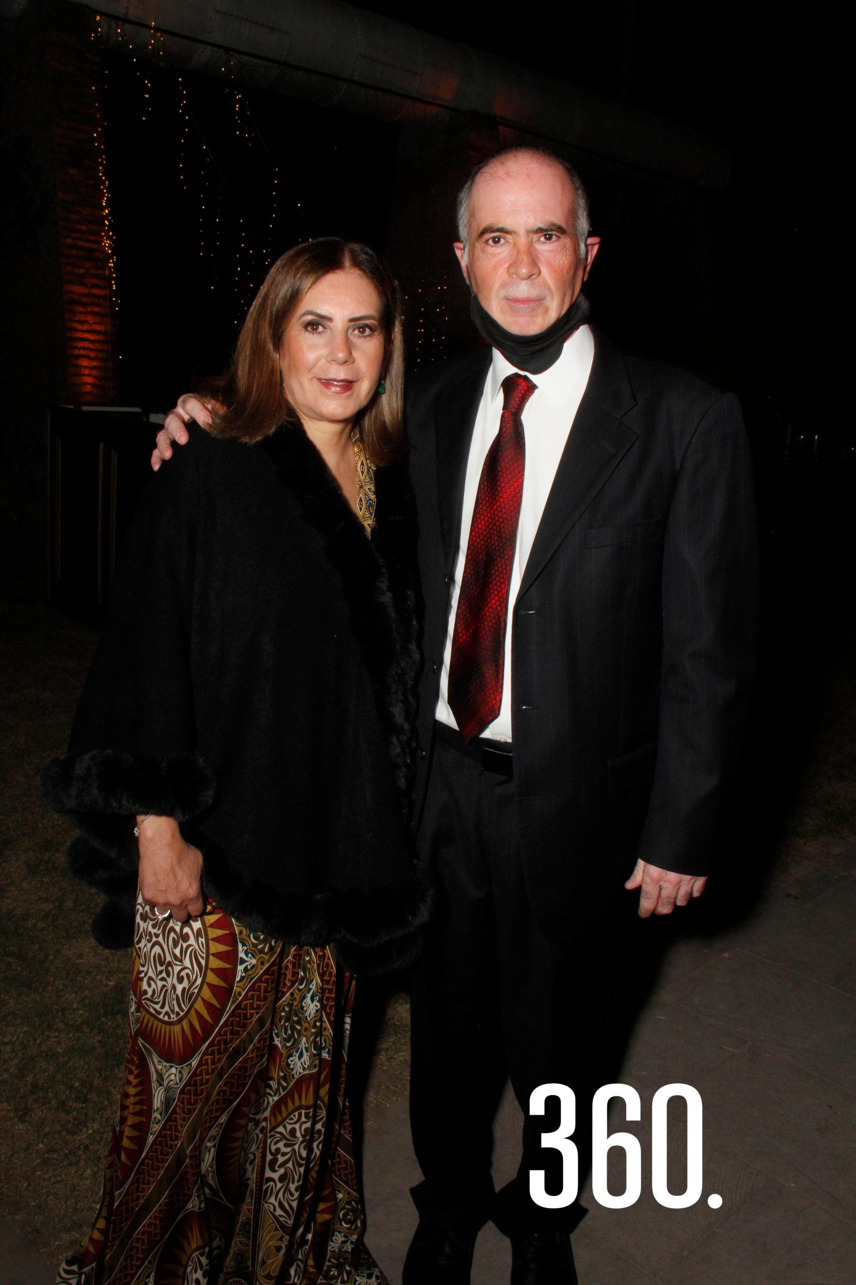 Micaela Hernández y Jorge Rodríguez.