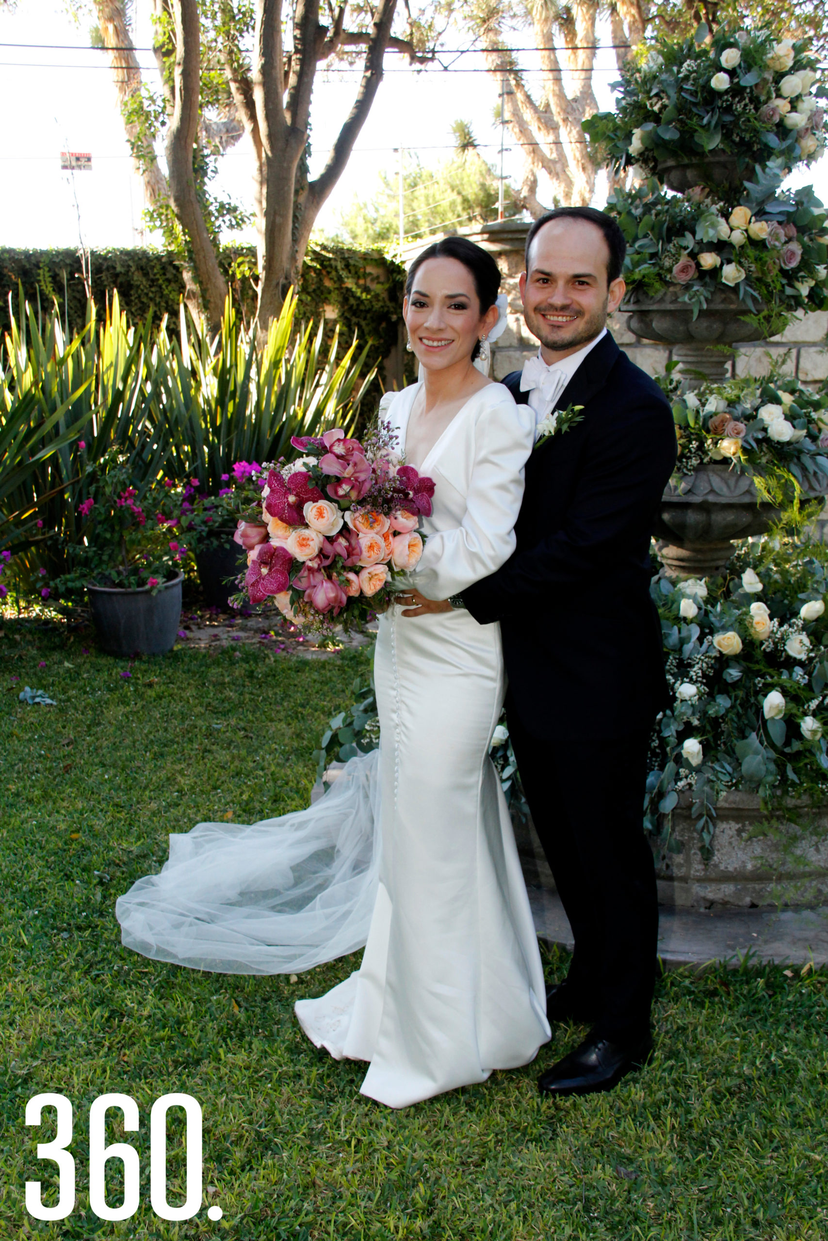 Miriam Rubio Flores y Juan Bautista de la Garza Garza.