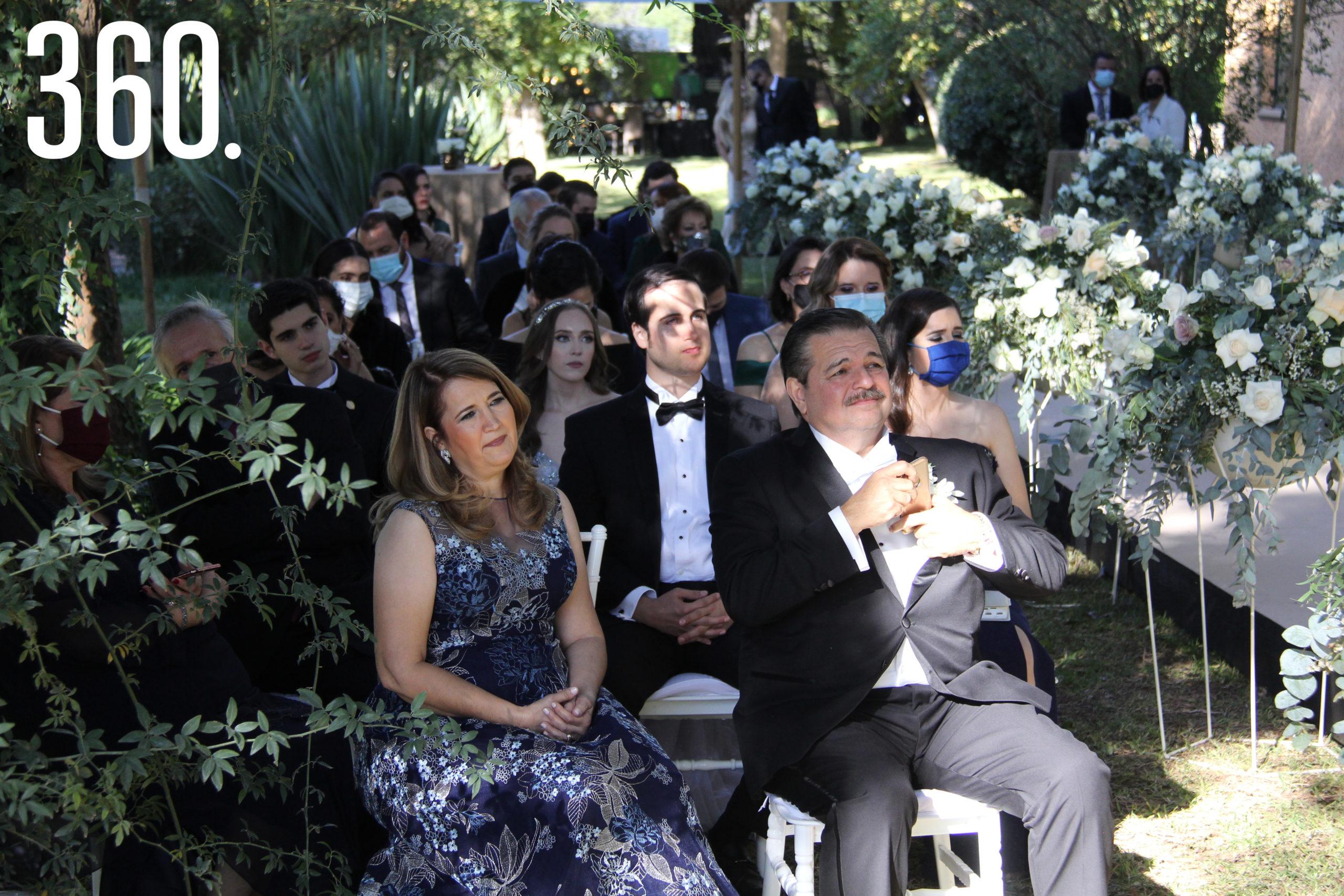 Los invitados pudieron acompañarles en este mágico momento.