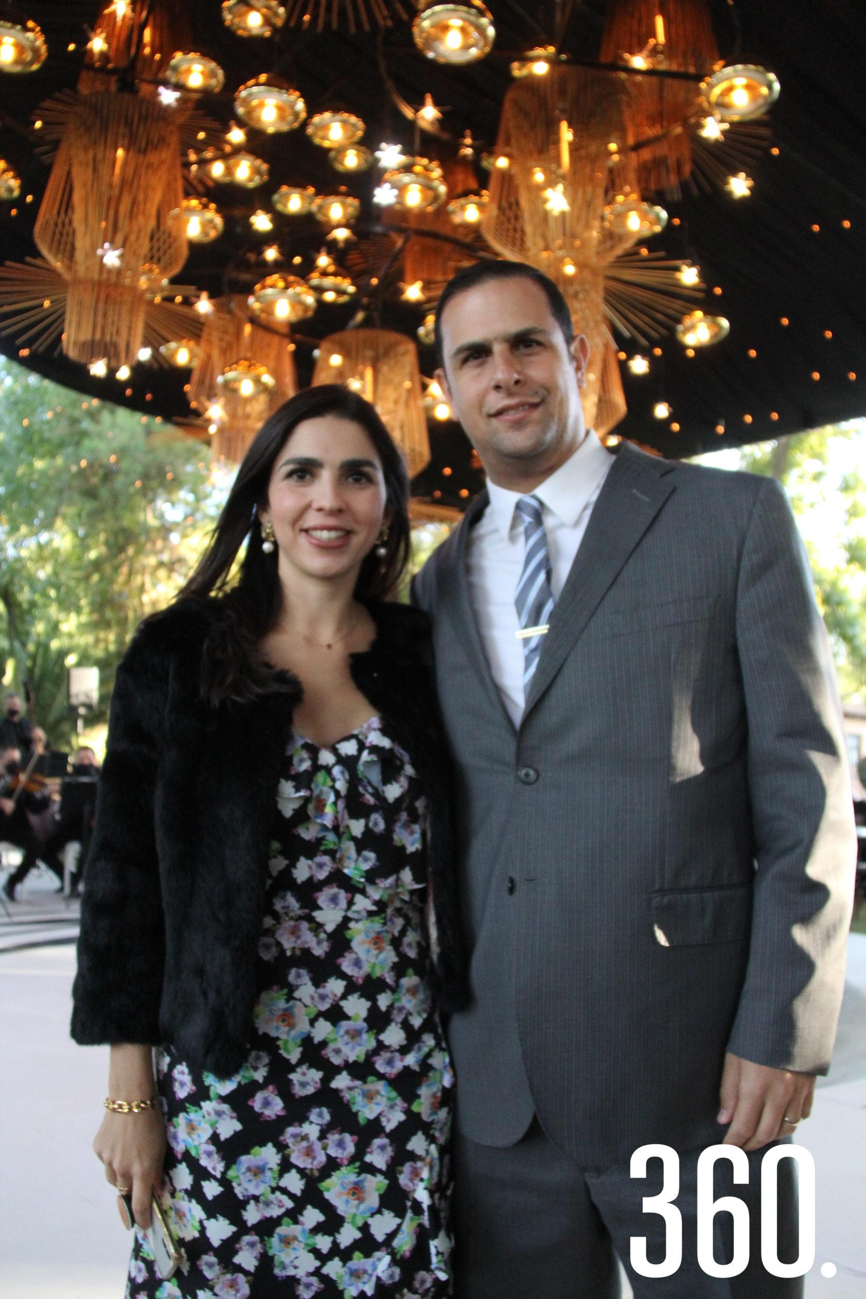 Karla Talamás y Carlos Giacoman.